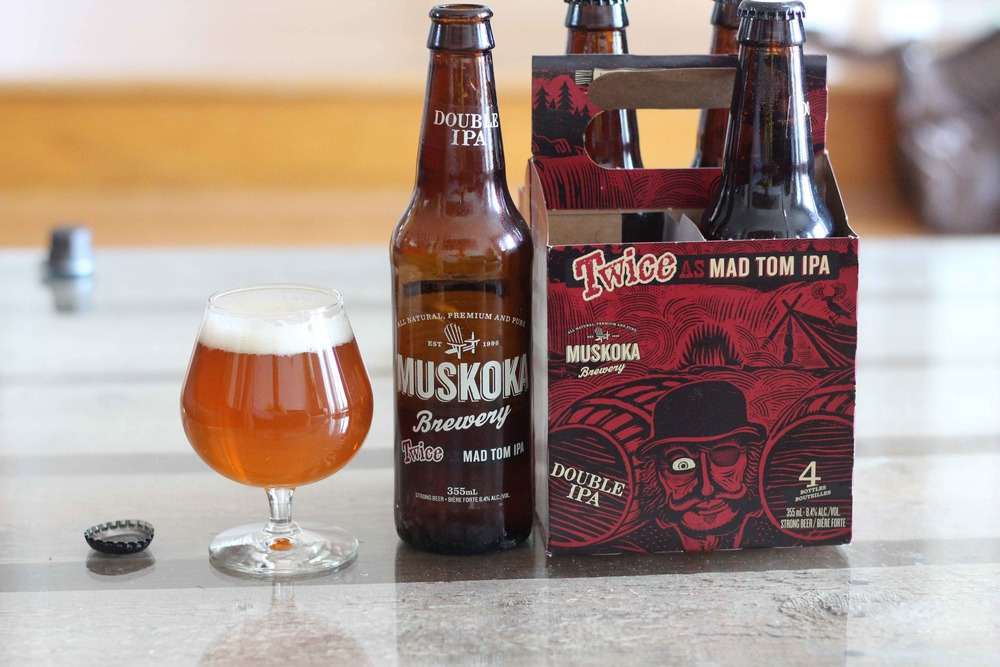 Twice as Mad, Twice as Good: Muskoka's Twice as Mad Tom Double IPA