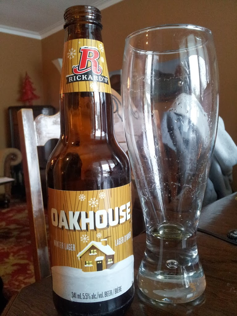 Contrived Craft Beer: Rickard's Oakhouse Winter Lager
