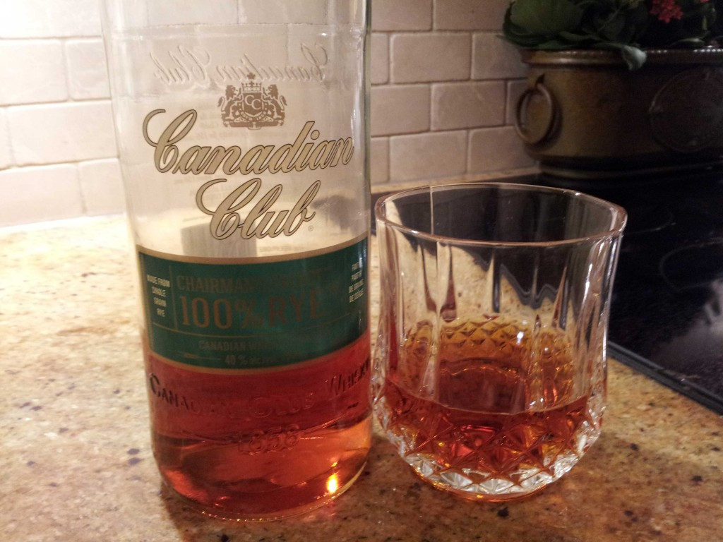 A Real Rye: Canadian Club Chairman's Select 100% Rye Whiskey