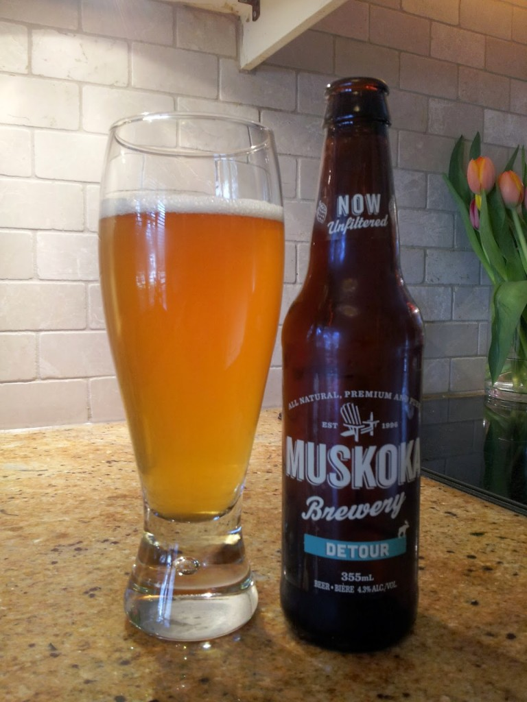 A Crafty Detour From Familiar India Pale Ales: Muskoka's Detour IPA