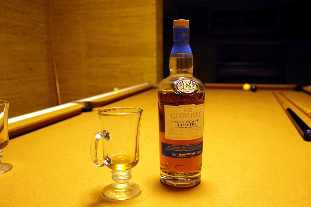 Guardians of Good Taste: Glenlivet's Guardians' Chapter Single Malt Scotch