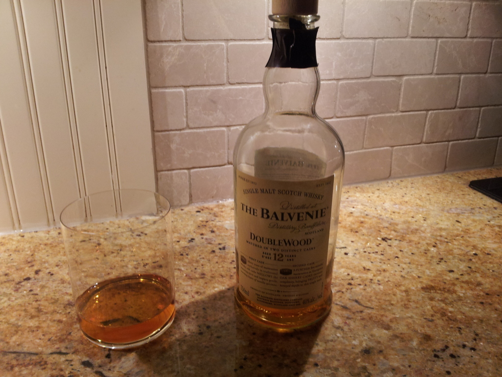 Double the Wood, Double the Good: The Balvenies DoubleWood 12 yr Single Malt