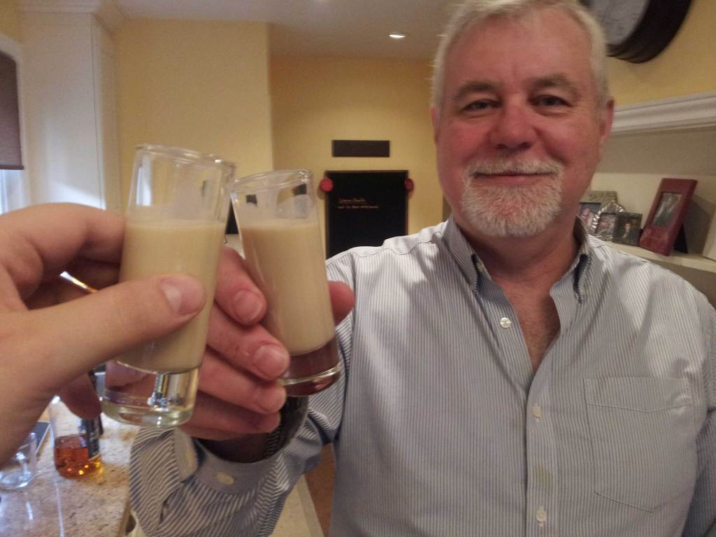 "Sipping With Smoth: Homemade ""Irish Cream"" With Papa Smith"