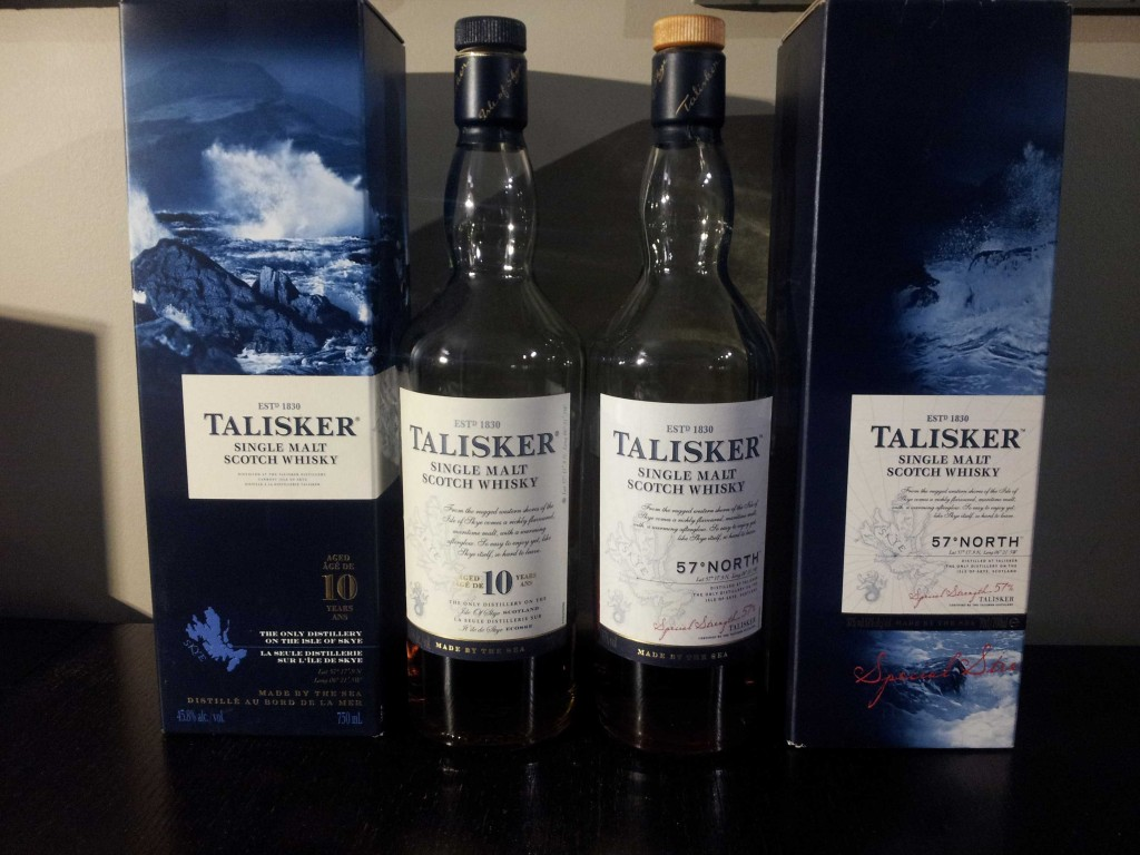 Head to Head: Talisker 10 Year vs. Talisker 57° North Scotch Whisky