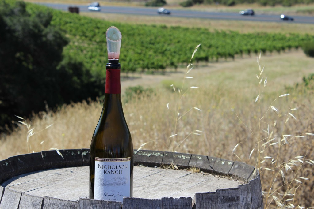 Sipping With Smoth: Visiting Nicholson Ranch Winery in Sonoma