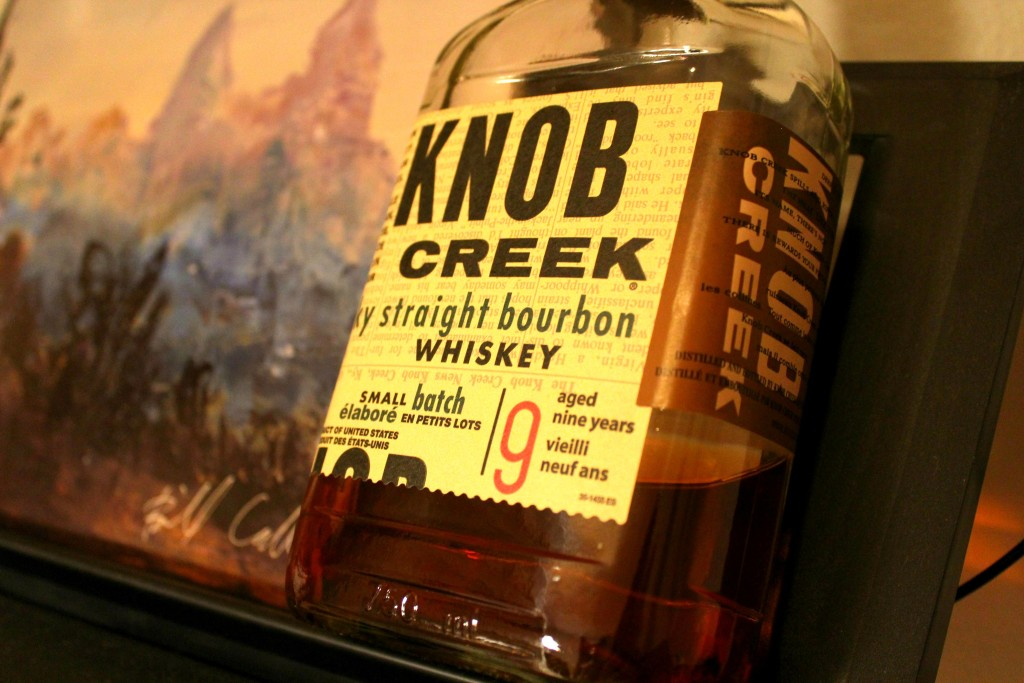 Knob Creek 9 Year Small Batch is BIG Bourbon