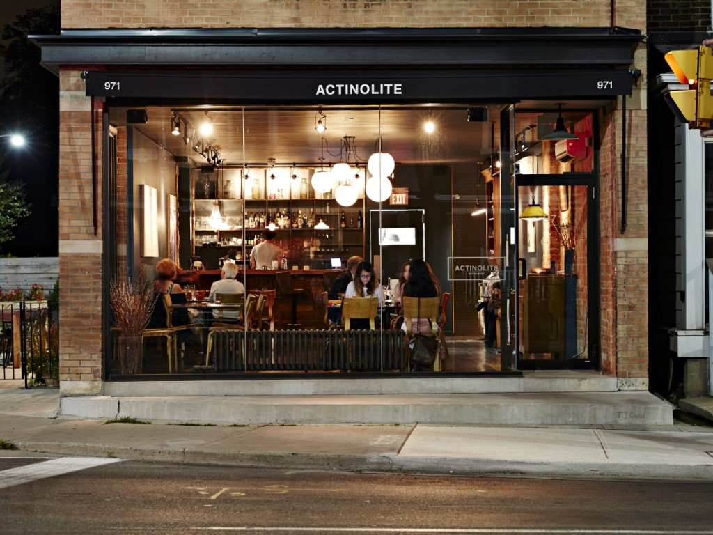 Actinolite Creates Contemporary Canadian Cuisine