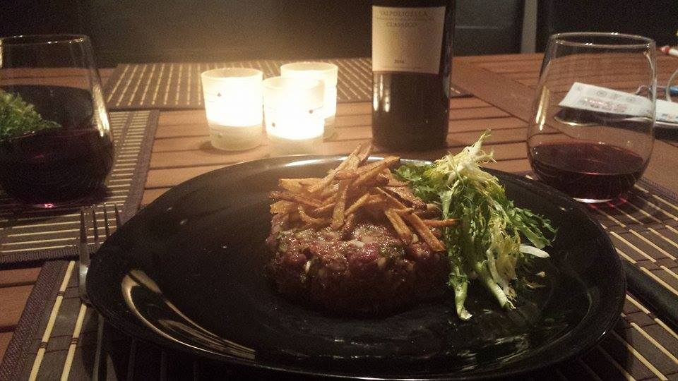 Date Night Dinner & Wine #3: Tasty Tartare With Valpolicella