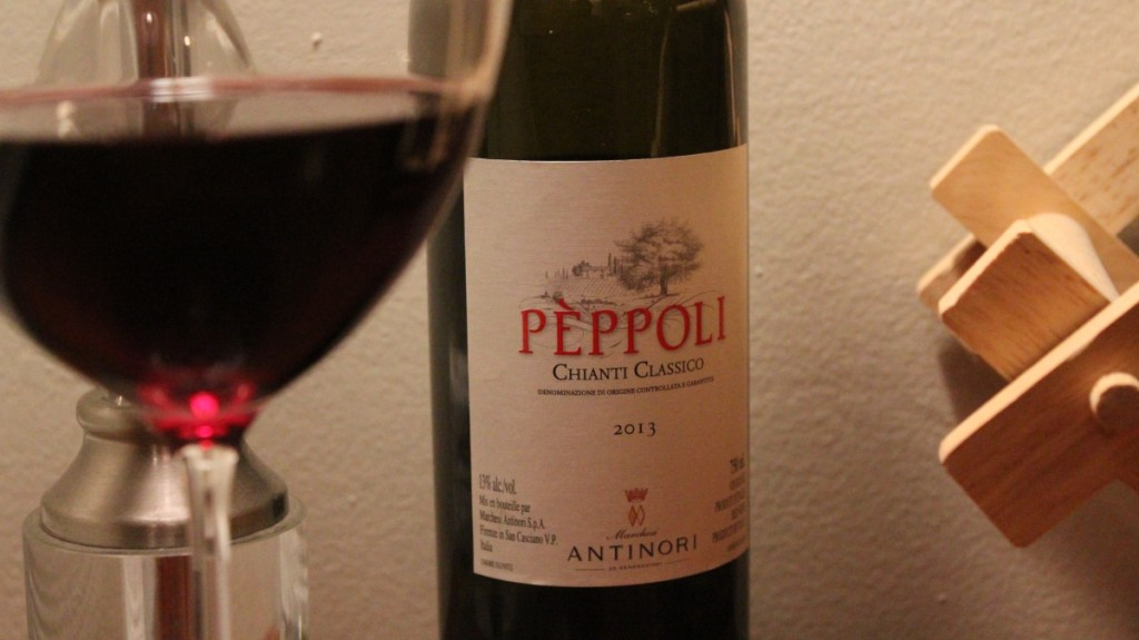 Antinori Pèppoli Chianti Classico Makes a Pefect Meal Pairing