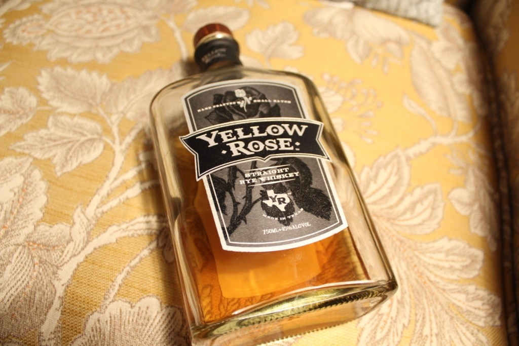 Yellow Rose Rye Is a Tasty Texas Whiskey