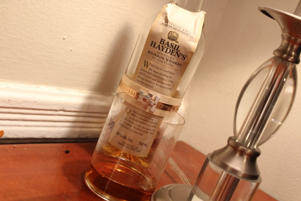 Basil Hayden's Bourbon: Good for Bond, Not for Me