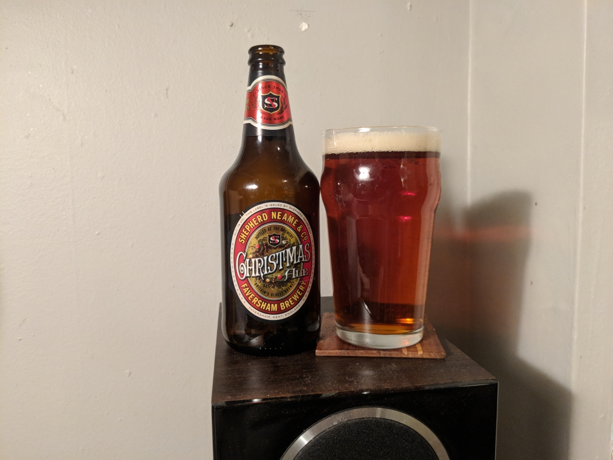 Shepard Neame Christmas Ale & The Effects of Aging