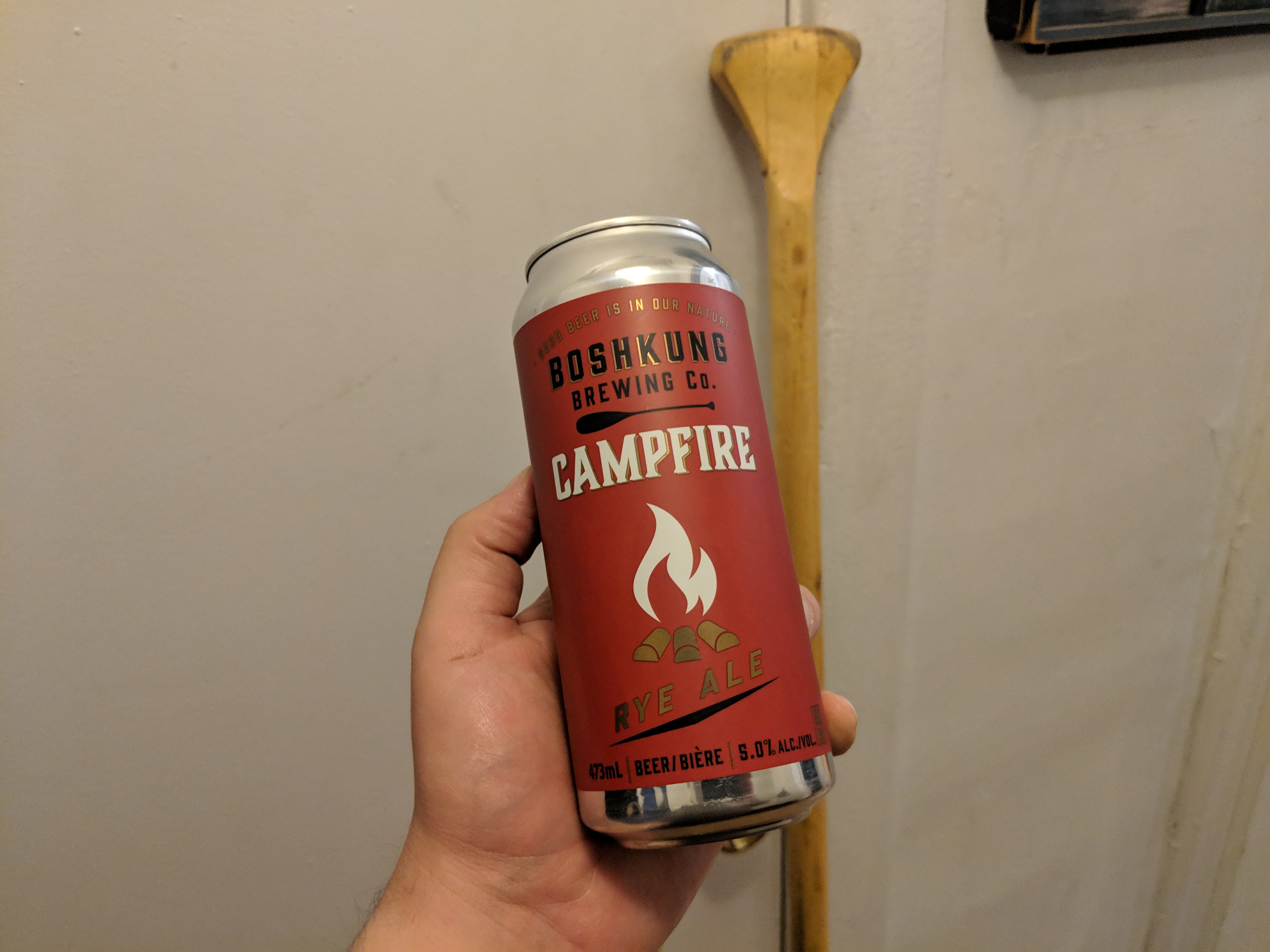 "Boshkung Campfire Rye Ale is ""Rye-ly"" Good"